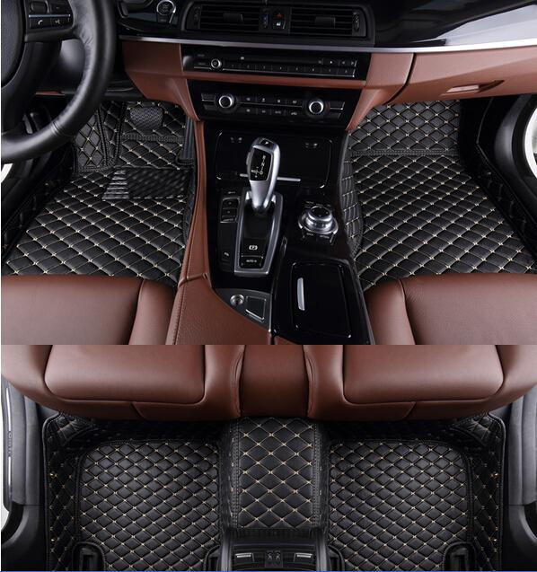 AA Custom Special Floor Mats For KIA Carens 7seats Easy To Clean Carpet For Carens 7seats Foot Mat Carmat