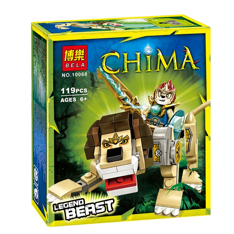 Reedcall 1 box 119pcs Chimaed Lion Action Figure Building Block Toys Compatible Legoed Chimaed LEPINE with Original BoxReedcall 1 box 119pcs Chimaed Lion Action Figure Building Block Toys Compatible Legoed Chimaed LEPINE with Original Box