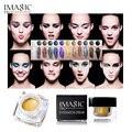 A prueba de agua de Larga Duración Crema de Sombra de Ojos Glitter 12 Colores Mulfunctional-Shimmer Sombra de Ojos, Eyeline, Resaltar el Maquillaje