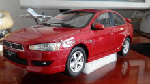 Rare!  Alloy Model Car 1:18 2009 Red Mitsubishi Lancer EX  Toys One Piece Only Out of Press