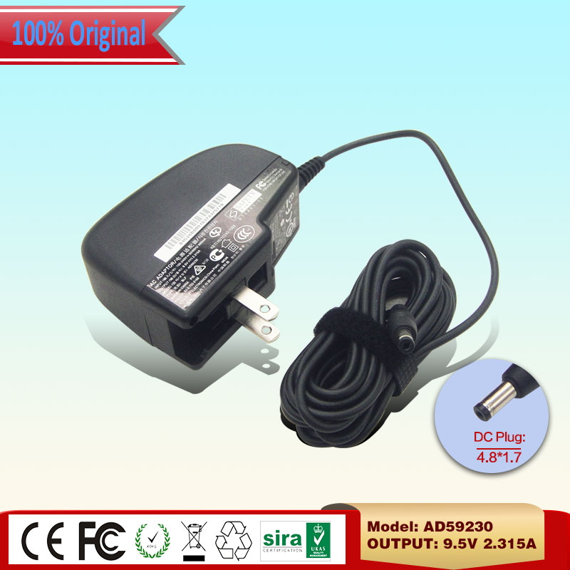 100% Original For ASUS EEE 701 SDX 900 Desktop AC Adapter 9.5V 2.315A 4.8*1.7mm AD59230 Power Supply Price $14.66