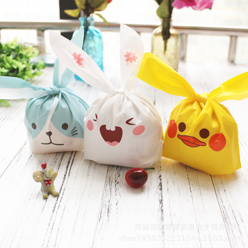 Functional Bags Shopping Bags Gift Party Supplies Rabbit Easter Bunny Cute Candy Home Decor Flower Kids Toy Decoration Storage Handbag Egg Basket Highly Polished