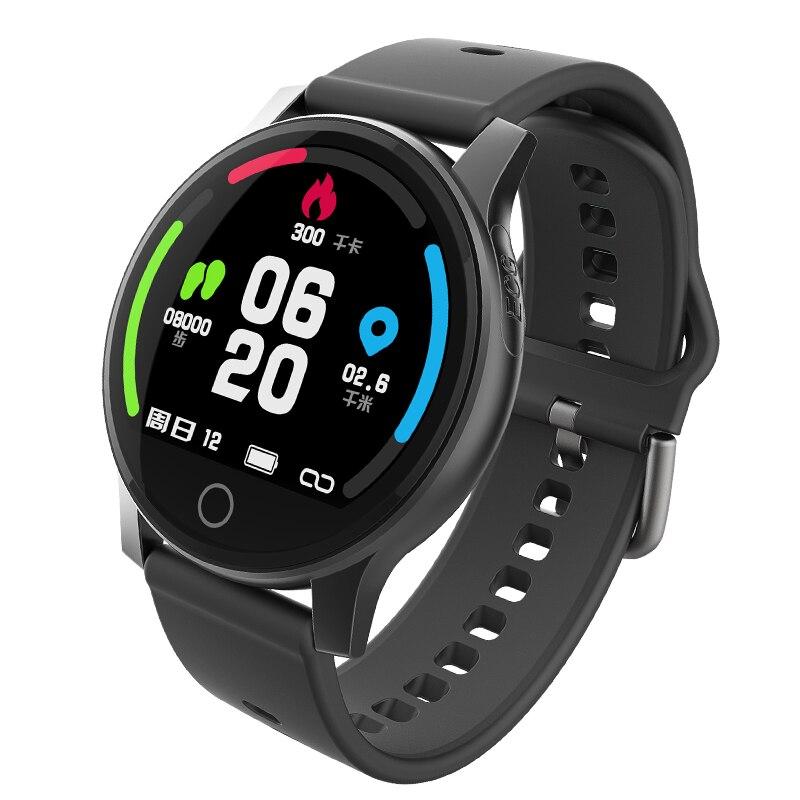 Robotsky R2 montre intelligente Bluetooth numérique hommes femmes fréquence cardiaque pression artérielle couleur écran Bracelet intelligent étanche montre de Sport