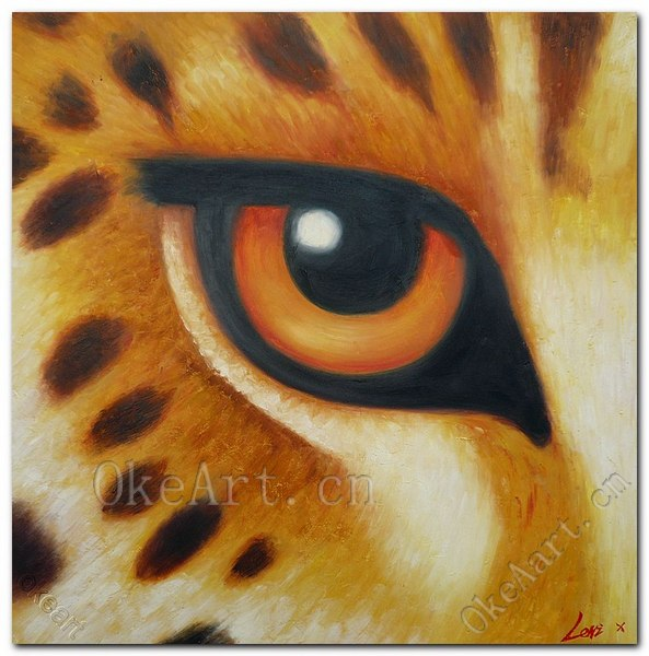 Popular tiger eyes canvas buy cheap tiger eyes canvas lots - Oil painting ideas for living room ...