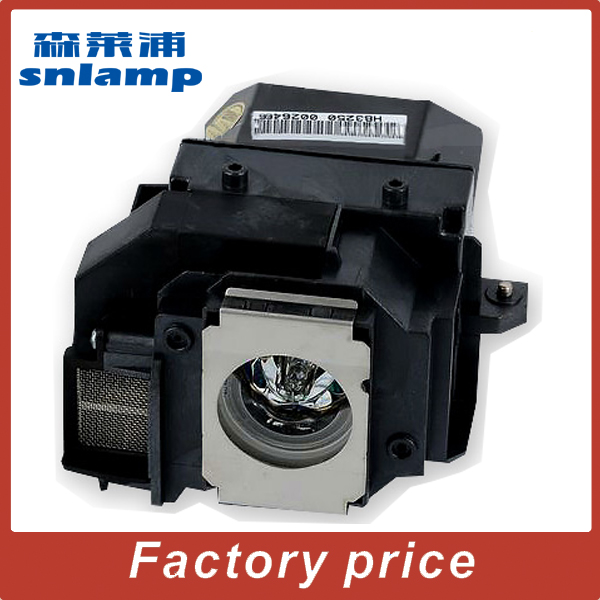 ФОТО Compatible Bulb High Quality Projector lamp ELPLP55 / V13H010L55 with housing  for EB-W8D
