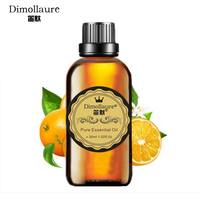 Dimollaure Sweet Orange Essential Oil Helpful Colds Clean Air Skin Care Body Massage Aromatherapy Fragrance Lamp