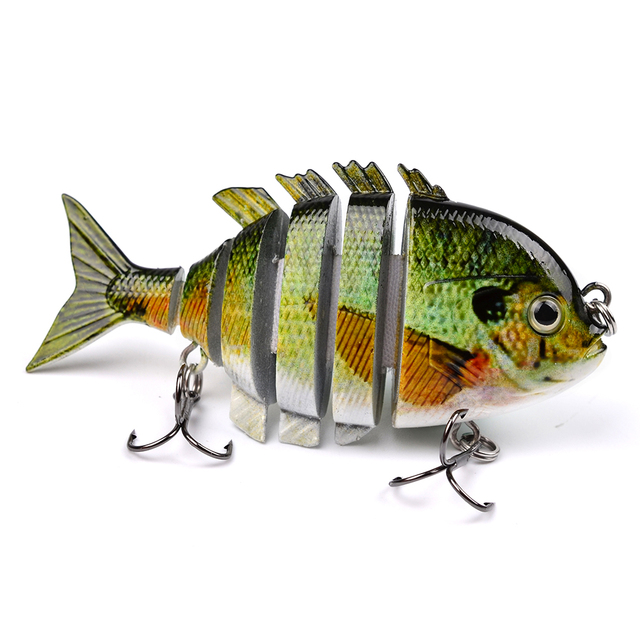 6-Pack Jointed Swimbait Set