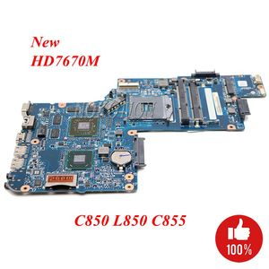 NOKOTION NEW Laptop Motherboard For Toshiba Satellite C850 L850 C855 H000051550 H000051770 HM76 DDR3 HD7670M series 1GB works