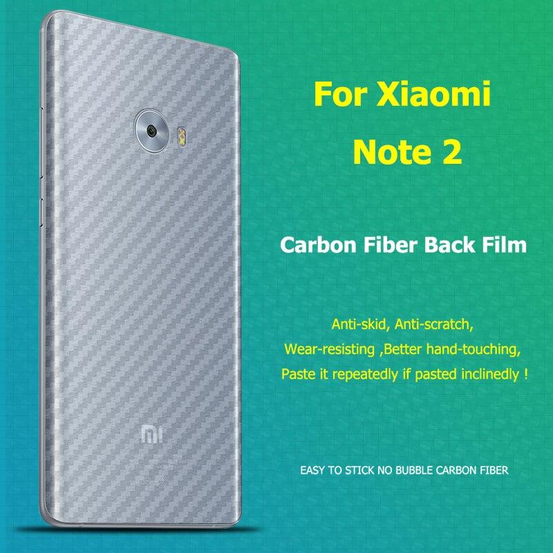 Для Xiaomi M MI NOTE 2 Note2 3D Углеродного Волокна Назад Мягкая Защитная Пленка Анти-отпечатков пальцев Защитная Ясно Прочный Охранник