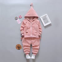 2017 Baby Boy Outfit Sets New Born Baby Clothes Set Unisex Baby Girl Long Sleeved Clothing