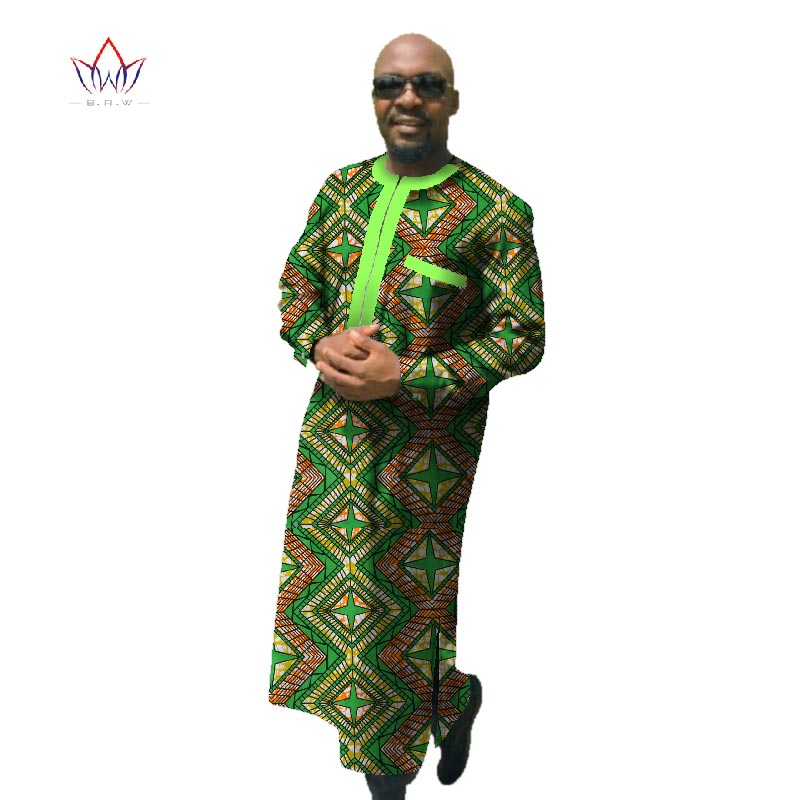 2017 Afrički tisak Dashiki za muškarce Plus veličine afričke - Nacionalna odjeća - Foto 1