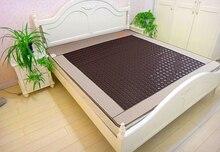 Натуральный турмалин коврик корея турмалин джейд турмалин отопление матрас нефритовый камень матрас 1.2 * 1.9 м