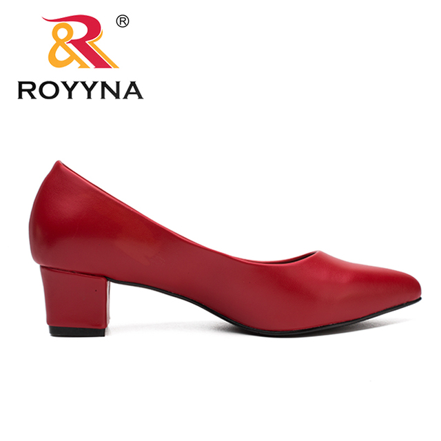 ROYYNA New Classics Style Women Pumps Shallow Women Shoes Pointed Toe Lady Wedding Shoes Comfortable Light Soft Free Shipping