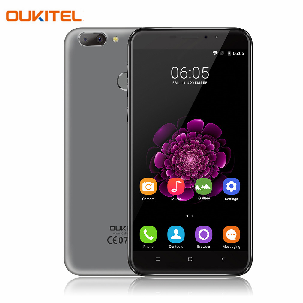 OUKITEL U20 Más 5.5 pulgadas 1920x1080 4G LTE Teléfono Móvil Android 6.0 Octa Co