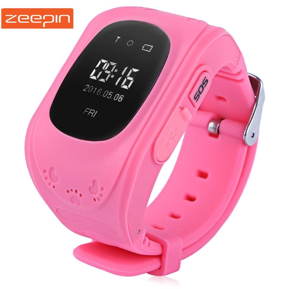 imágenes para Zeepin Q50 Teléfono Inteligente Reloj Niños Pista Anti-perdida Localizador GPS SOS de Llamada OLED/LCD Monitor de Bebé Seguro para iOS Android Ruso