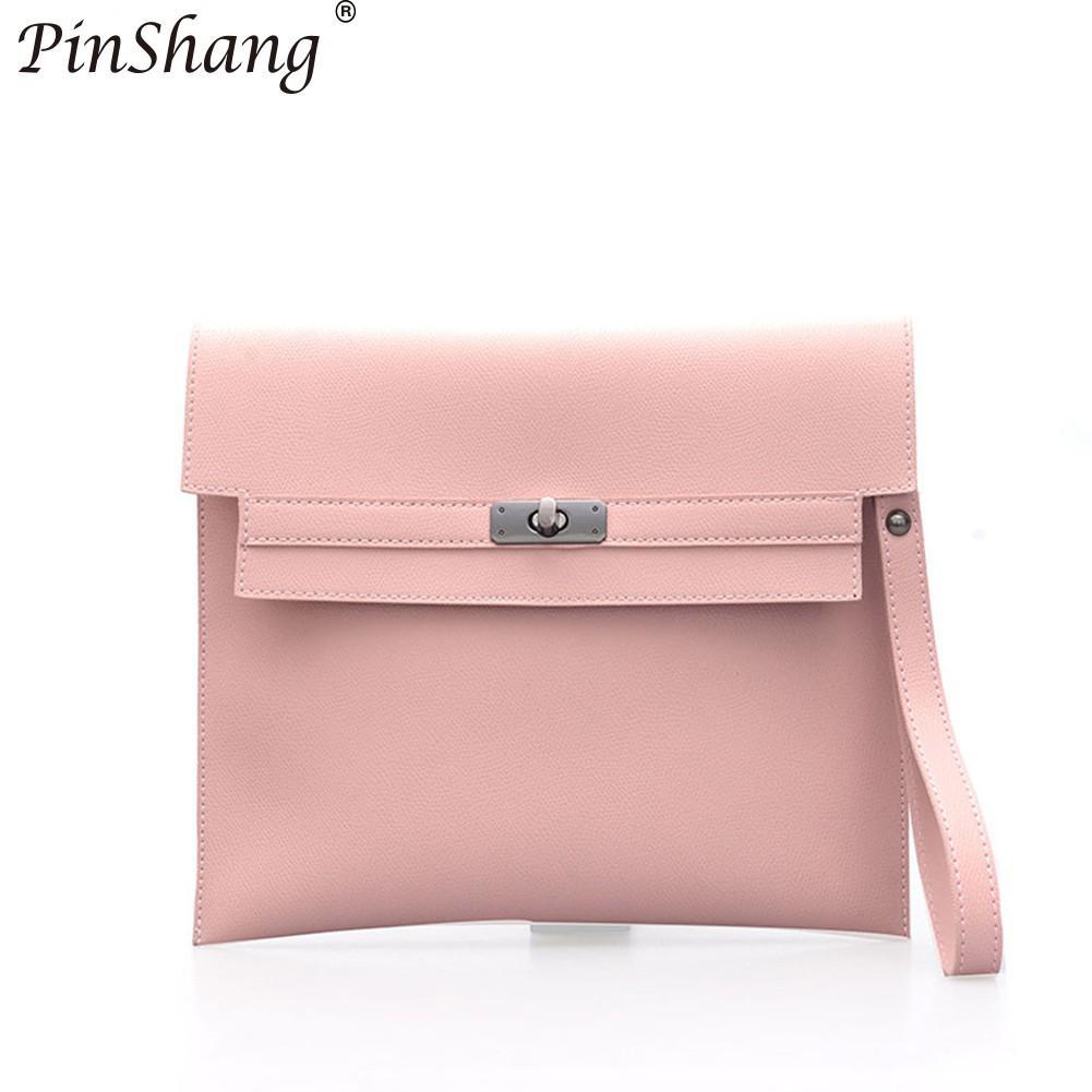 PinShang Модные Ретро Папка Портфели сумка стильная из мягкой искусственной кожи Большой Ёмкость сумка для Для женщин KZ30