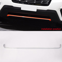 For Subaru Forester SK 2019 ABS Chrome Front / Rear Bumper Protactor Cover Trim