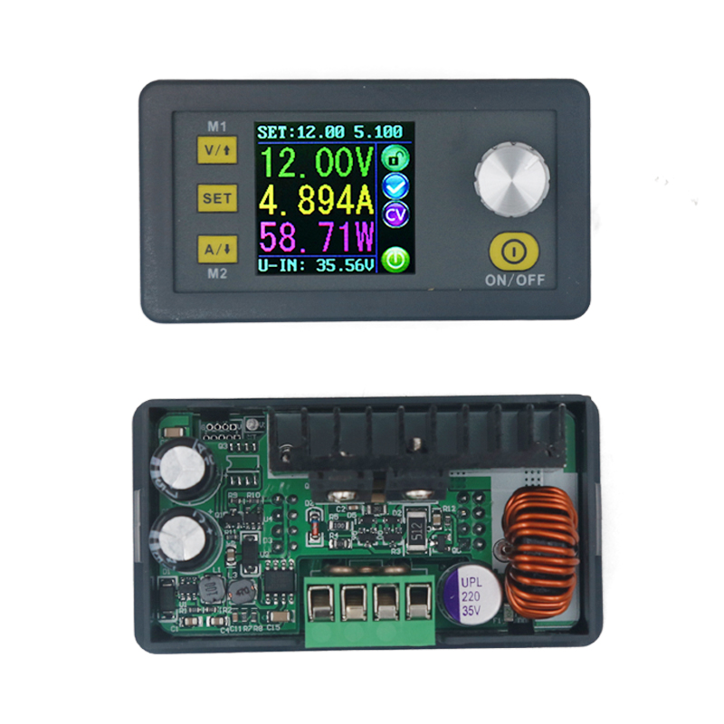 DP30V5A Upgraded Version DPS3005 Constant Voltage Current Step-down Programmable Converter Supply Ammeter Voltmeter Module 10%