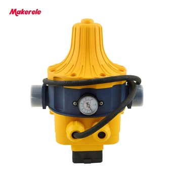 Automatic Water Pump Pressure Controller Electronic Switch Control Water Shortage Protection with plug socket wires MK-WPPS15