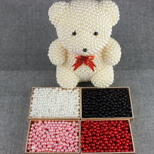 창조적 인 생일 선물에 대 한 1 pc DIY 진주 곰 키트 150 mm 거품 곰 다른 색상
