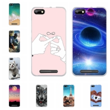 For BQ S 5020 Strike Case Soft Silicone BQS-5020 BQS BQS5020 Cover Cute Dog Patterned Capa