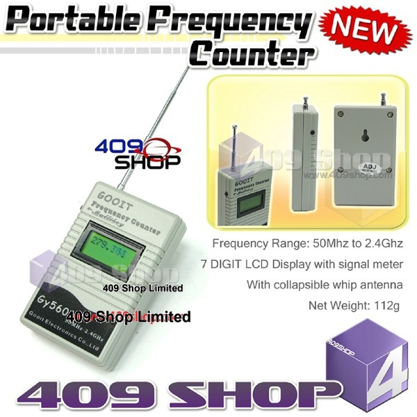 GY560 Portable Frequency Counter GY560 for 2 Way Radio