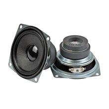 AIYIMA 2 pièces 2.5 pouces 72mm Tweeter haute fréquence Hifi Audio stéréo haut parleurs 5W 4Ohm magnétique haut parleur pour haut parleur Bluetooth