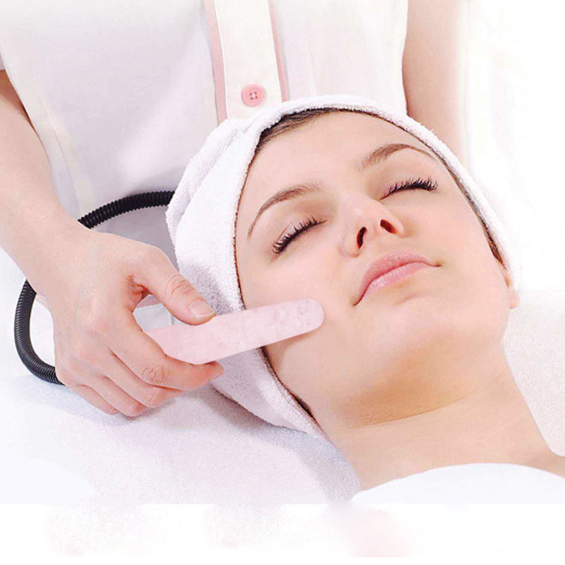100%  Natural Rose Quartz Yoni Wand 11cm Face Massager Roller Crystal Massage Stick GuaSha Tool for Women Massage & Relaxation natural crystal rose quartz face massage wand pleasure wand body massage wand