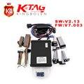 Frete Grátis V2.13 FW V7.003 KTM100 KTAG Programação ECU K-TAG Ferramenta Mestre Versão Nenhum Token Limitação KTAG Ktag V7.003 V2.13