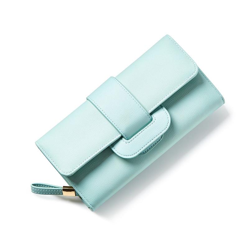 2017 Women Leather Hasp Wallet Fashion Portable Multifunction Long Change Purse Hot Female Coin Zipper Tri-Folds Clutch For Girl набор восковые полоски beauty image пластины с воском для тела алое вера набор для тела алое вера