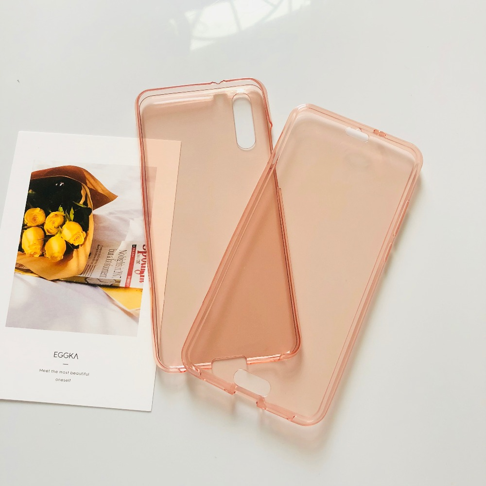 for huawei P20 Pro case 360 Full Body Cover TPU Silicone Cases for huawei P20 lite Nova 3e P smart case transparent etui coque