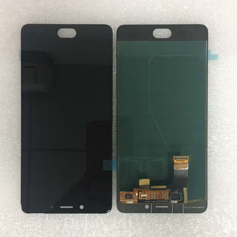 Black white 100 Tested working LCD Display Touch Screen Digitizer Assembly For ZTE Nubia N2 NX575J