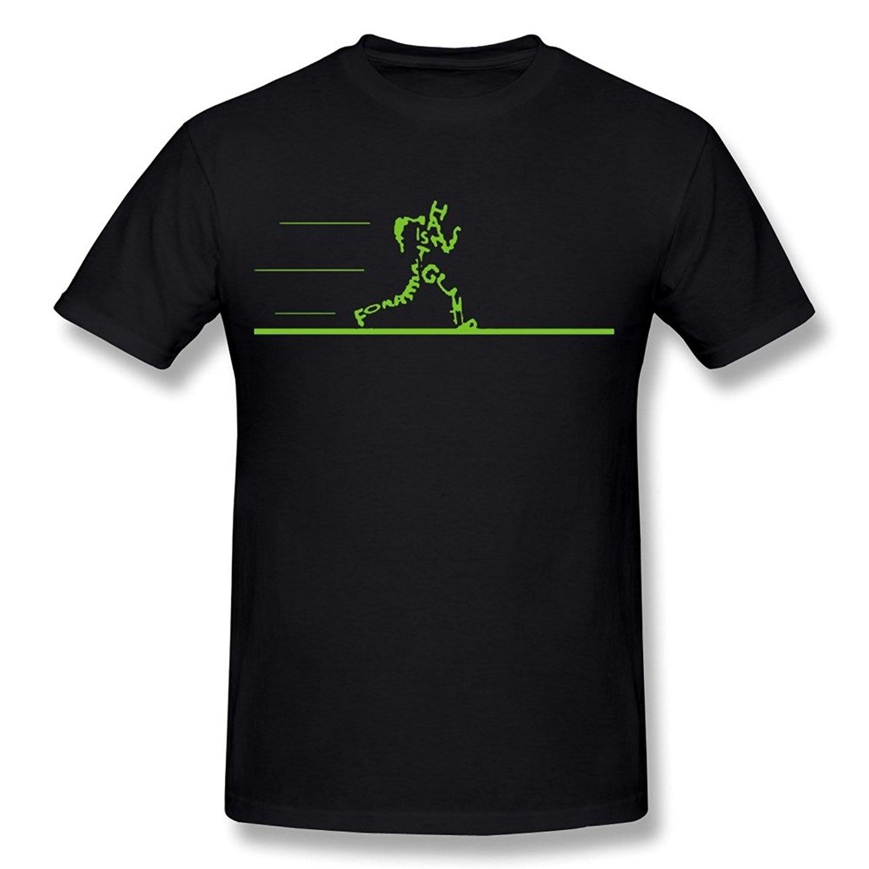 Mens T shirts Oscar Best Picture Forrest Gump Runer Black