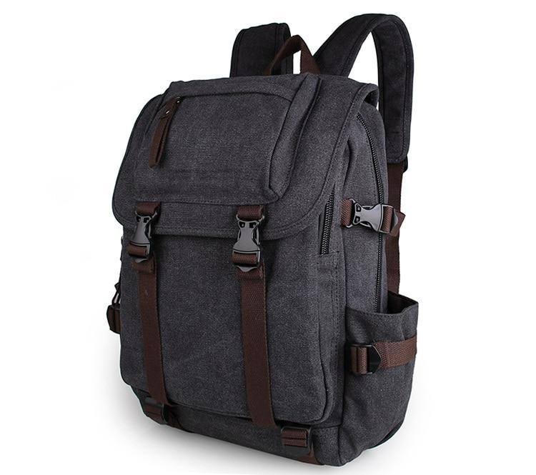 a7420b6528722 ᐅUcuz Dayanıklı kanvas laptop sırt çantası Seyahat Çantası # 9023A ...
