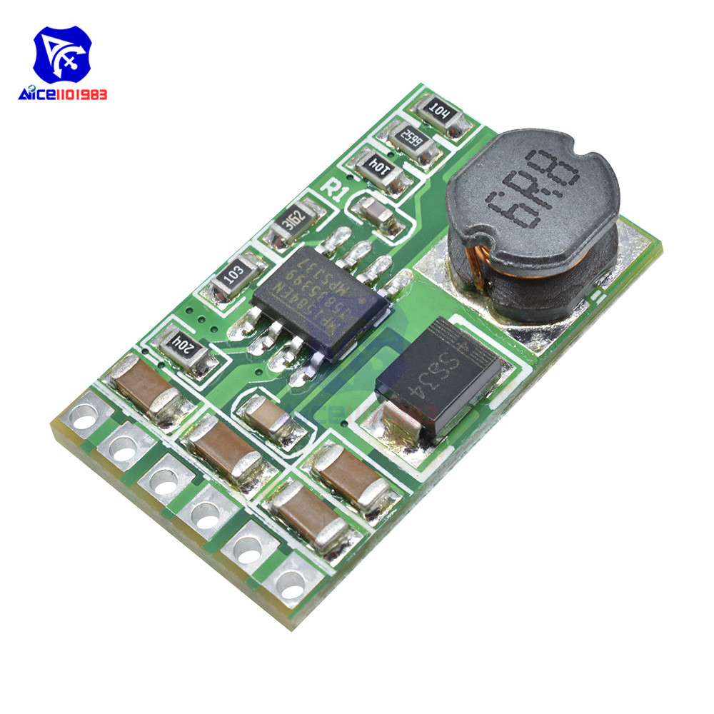 Adjustable DC-DC Step-Down Buck Converter <font><b>Power</b></font> <font><b>Supply</b></font> Module DC 5 -27V to 3V/3.3V/3.7V/5V/6V/7.5V/9V/<font><b>12V</b></font> <font><b>3.5A</b></font> Voltage Regulator image