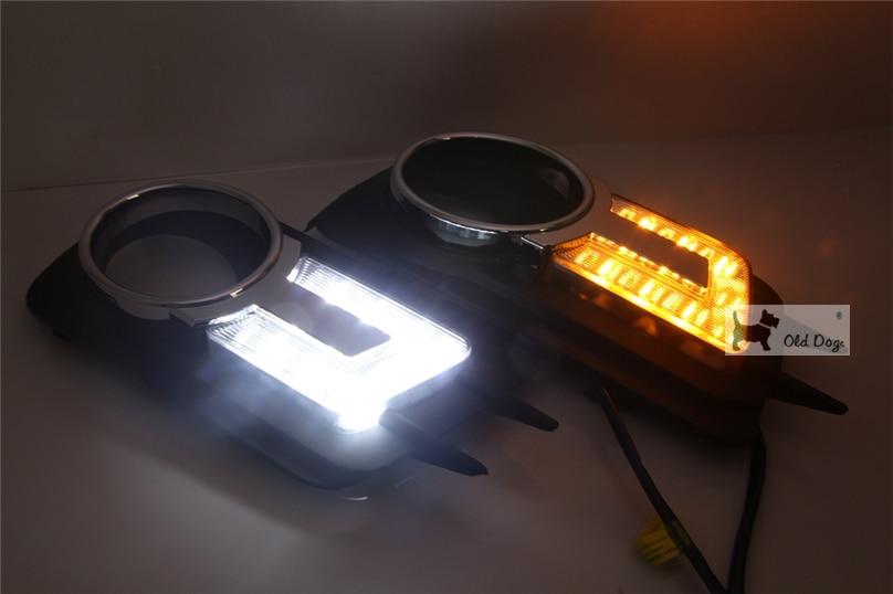 wholesale car styling For Volkswagen VW Tiguan 2010 2011 2012 LED DRL Daytime Running Light Daylight
