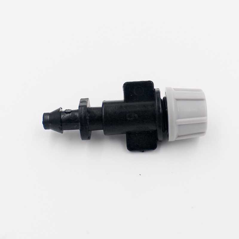 400pcs/pack Atomizing Micro Nozzle With 1/4 Barb Watering Cooling Spray Sprinkler Irrigation Micro Drip Fittings M119A