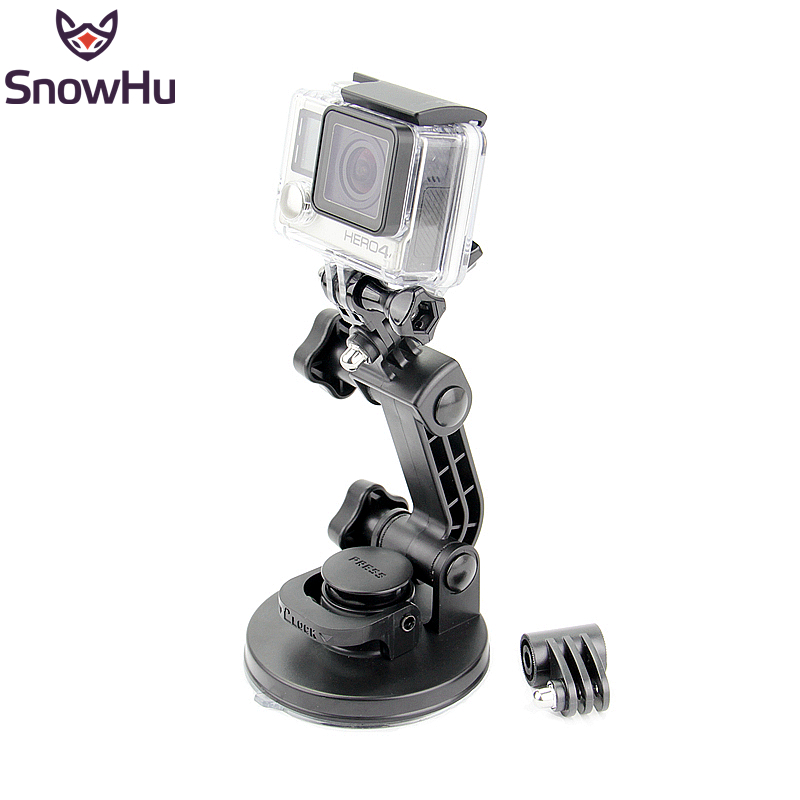 SnowHu for gopro accessories Top Strong Chuck Suction Cup as the original one for go pro