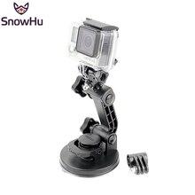 SnowHu para gopro accesorios Top Fuerte Chuck Ventosa como el original uno para go pro hero 5 4 3 + cámara SJ4000 xiaomi GP106