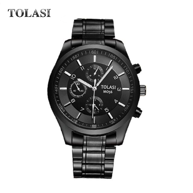 2017 reloj hombre Top Luxury Brand TOLASI Men Sport Watches Men's Quartz LED Clock Man  Waterproof Wrist Watch relogio masculino mens watches top brand luxury classic business dress quartz wrist watch man waterproof clock men 2017 reloj hombre casima 5124