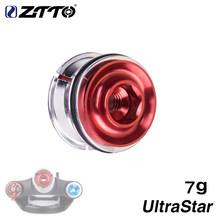 "ZTTO Road Bike Fork Steerer Headset Ultralight Star Nut Expansion Screw Expander Plug Compression 1 1/8"" Tube bicycle parts(China)"