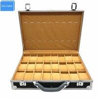 2020 Wrist Watches Suitcase Casket Aluminum Alloy Case Display Storage Box Watch Organizer Holder Clock Horrloge saat kutusu box