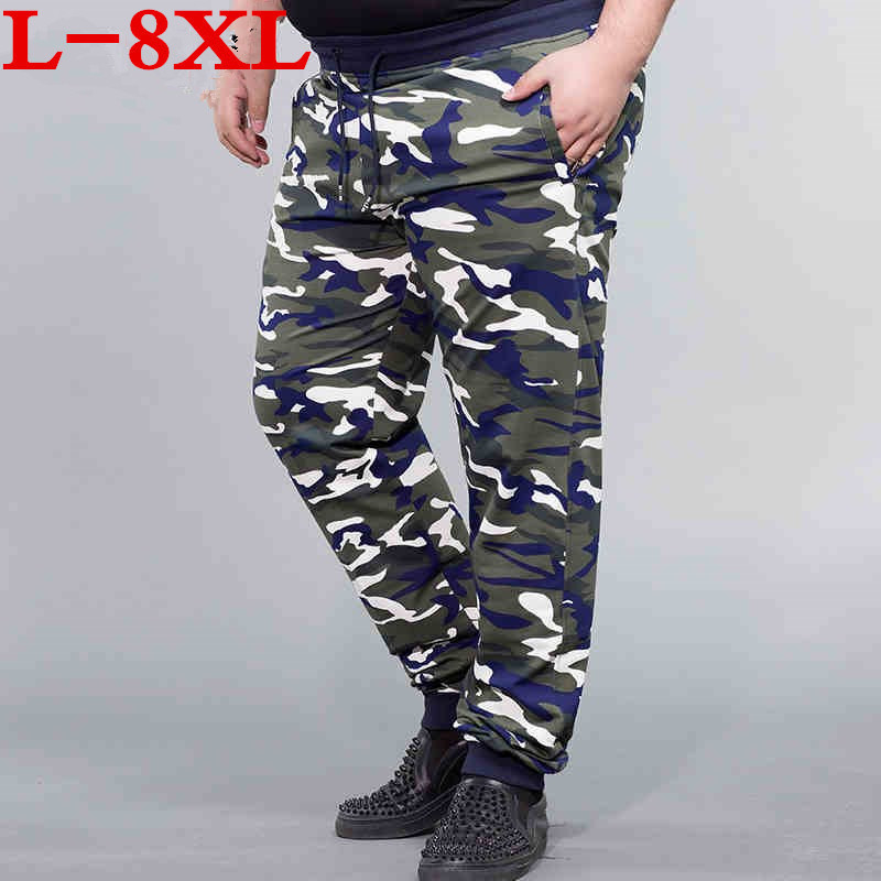 new Mens Camouflage Sweats Pants Men Joggers Tracksuit Bottoms Army Military Camo Print Casual Cotton Sweatpants Trousers Male