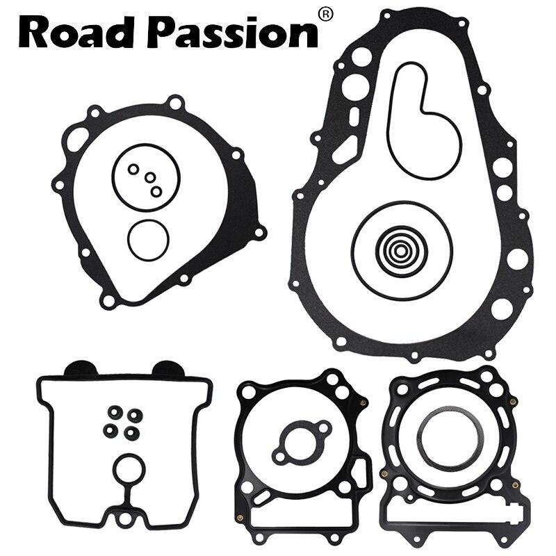 Road Passion Motorcycle Engine Cylinder Cover Gasket Kit For SUZUKI LTZ400 LTZ 400 QUADSPORT 2003 2008