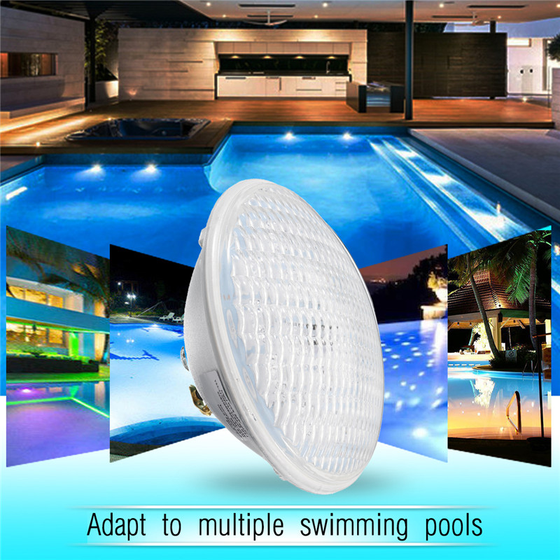 Smuxi 18/30/36W Underwater Swimming Pool RGB Lamp with Remote Controller Color Changing Wall Waterproof IP68 Submersible Light 30cm color changing remote control party pool magic waterproof rgb night lighting lamp globe