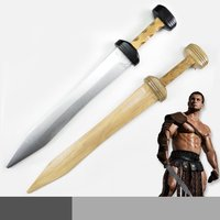 Roman GladiusWooden Sword Cosplay Sword Weapons Cosplay Props