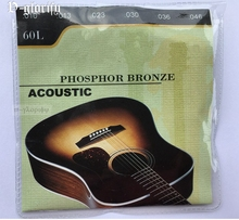 60L 010-046 acoustic guitar string free shipping good for beginner