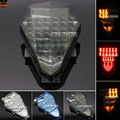 For YAMAHA YZF R6 YZF-R6 2008-2014 Motorcycle Accessories Integrated LED Tail Light Turn signal Blinker Smoke