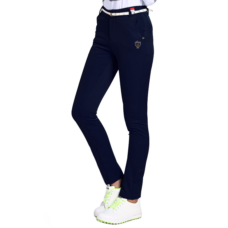 PGM Women Golf Pants Golf Clothing Women Slim Golf Tennis Pant Quick Dry Female Sportwear Outdoor Sports Lady Trousers цена