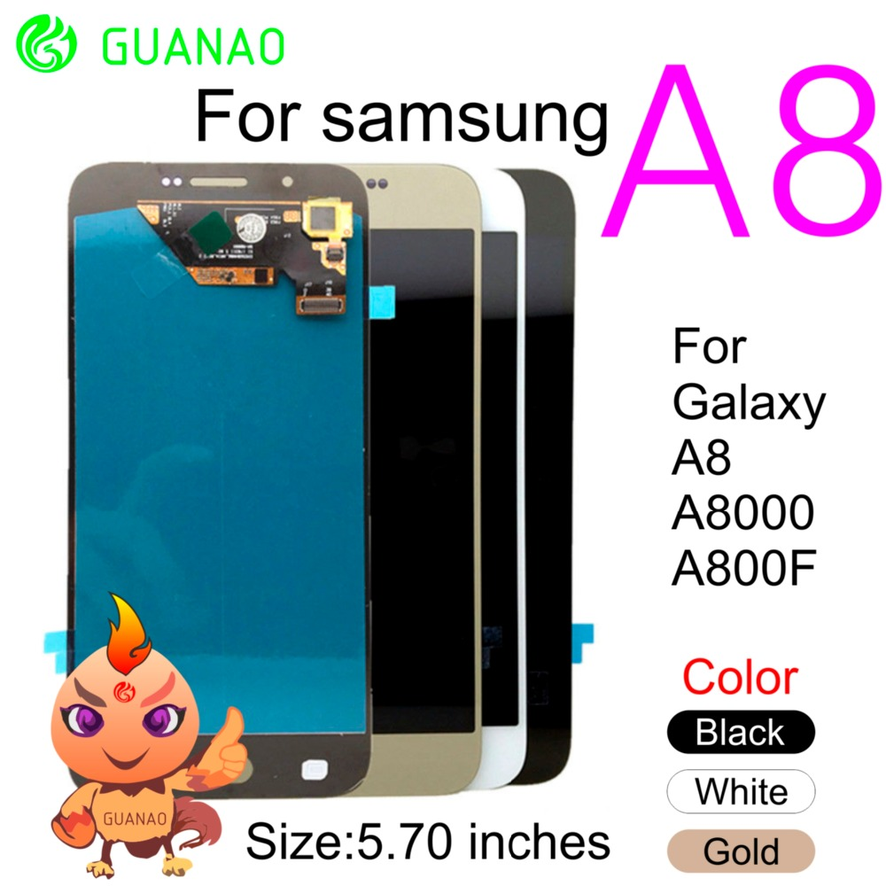 5.7 inch 100% tested Display for SAMSUNG Galaxy A8 LCD Display Touch Screen Digi